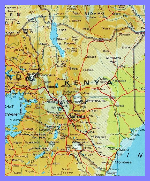 Kenya map gumiabroncs Choice Image
